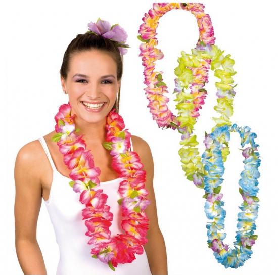 Hawaii bloemetjes krans