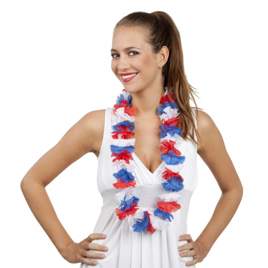 Hawaii slinger rood/wit/blauw