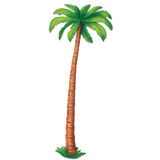 Tropische palmboom decoratie