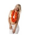 Luxe oranje hawaiikrans