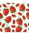 Servetten aardbeien 3 laags 20 stuks